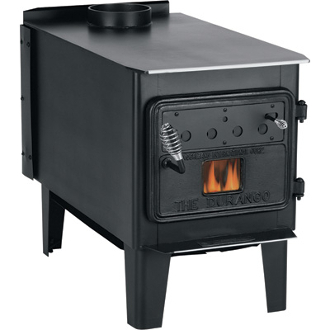 Vogelzang Durango High-Efficiency Wood Stove with Blower