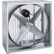 "Triangle Fans Belt-Drive 36"" Poultry Fan"