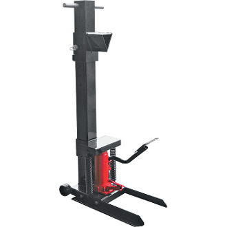 Vertical Foot-Operated 8-Ton Log Splitter