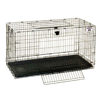 Wire Pop-Up Rabbit Cage - Large