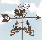 Weathervane - Kansas University