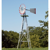 8ft Ornamental Windmill